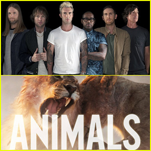 Maroon 5 Premiere New 'V' Single, 'Animals' - Watch the Lyric Video Now!