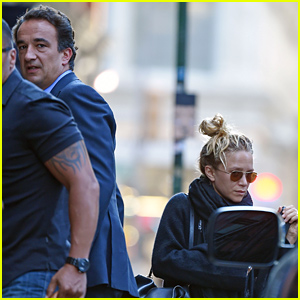 Mary-Kate Olsen & Fiance Olivier Sarkozy Pack Up for a Romantic Weekend Getaway!