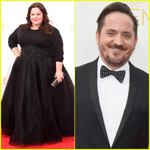 Melissa McCarthy & Ben Falcone Couple Up for Emmys 2014