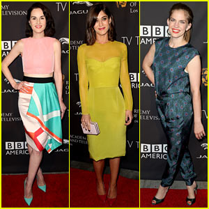 Michelle Dockery & Lizzy Caplan Make Time for Tea with BAFTA!