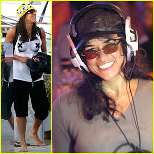 Michelle Rodriguez Wants to Free the Nipple in Ibiza!