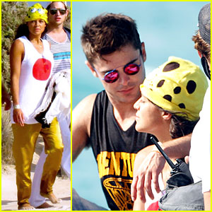 Zac Efron Gazes Into Michelle Rodriguez's Eyes in Ibiza!