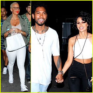 Miguel & Amber Rose Are 'On The Run' for Beyonce & Jay Z