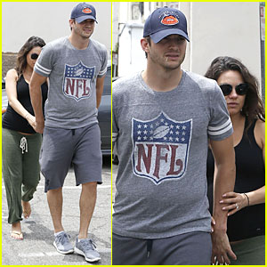Pregnant Mila Kunis & Ashton Kutcher Want to Add More Art to Their Home