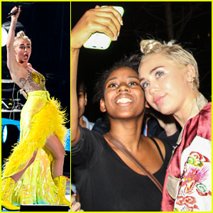 Miley Cyrus Looks as Bright as the Sun During Live Performance!