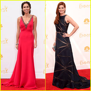 Minnie Driver & Debra Messing Are Pure Class at Emmys 2014