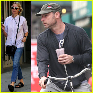 Naomi Watts & Liev Schreiber Run Errands Separately in NYC!