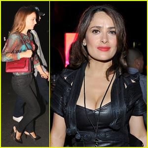 Natalie Portman, Salma Hayek, the Beckhams & More Hit Up Beyonce & Jay Z's L.A. Concert