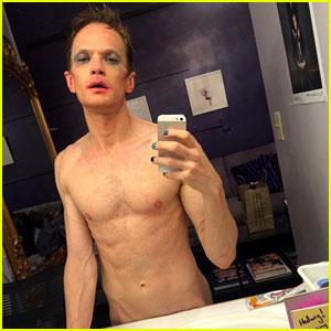Neil Patrick Harris Goes Nude in Dressing Room Selfie!