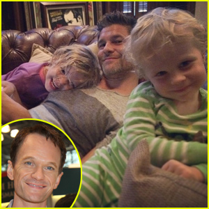 Neil Patrick Harris Combats David Burtka Split Rumors with Adorable Family Photo - See it Here!