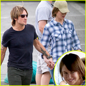 Nicole Kidman & Keith Urban Hold Hands On Her Film Set!