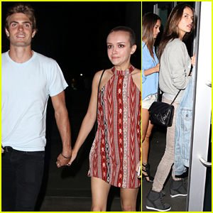 Bates Motel's Olivia Cooke Pairs Her Shaved Head with a Hot Mystery Guy!