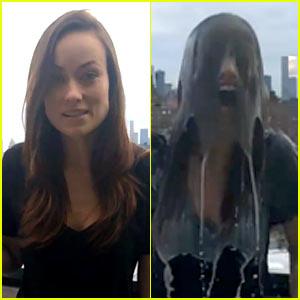 Olivia Wilde Uses 'Breast Milk' for Ice Bucket Challenge Video!