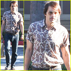 Olivier Martinez Looks Like He Traveled Back to the 1970s!