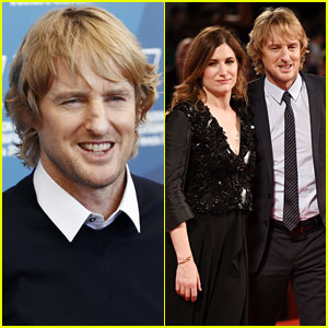 Owen Wilson & Kathryn Hahn Get All Dressed Up for 'She's Funny That Way' Premiere!