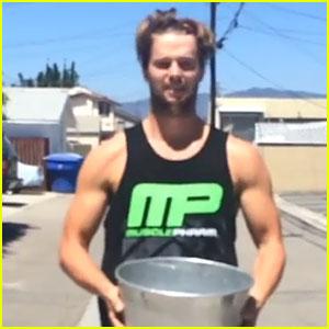 Patrick Schwarzenegger Accepts JJ's Ice Bucket Challenge - Watch Now!