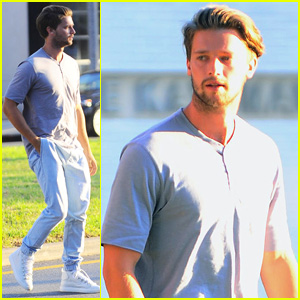 Patrick Schwarzenegger Steps Out Sporting Some Major Scruff