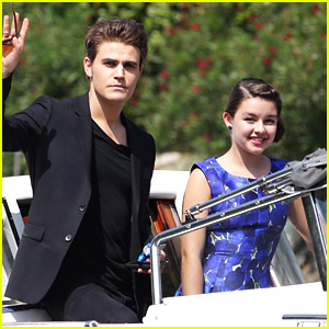 Paul Wesley Doesn't 'Disappear' After Arriving For Venice Film Festival