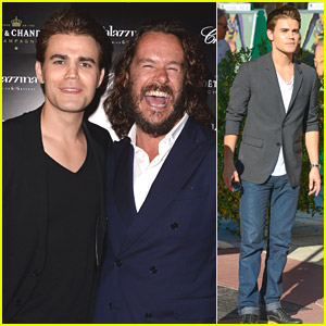 Paul Wesley Kicks Off Venice Film Festival at PalazzinaG Hotel Party