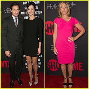 Peter Facinelli & Jaimie Alexander Step Out in Style for Showtime's Emmy Eve Soiree!