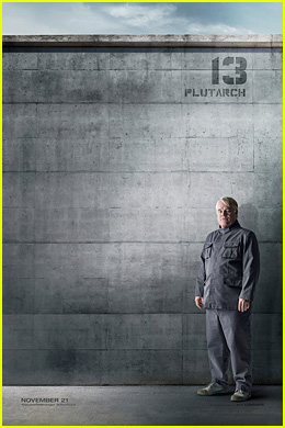 Late Philip Seymour Hoffman Stands Strong in New Character Poster for 'The Hunger Games: Mockingjay - Part 1'