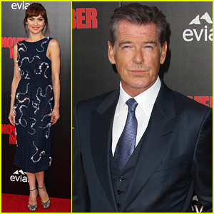 Pierce Brosnan Talks Robin Williams' Death at 'November Man' Premiere: 'He Will Be Loved Forever & Missed Forever'