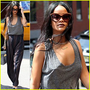 Rihanna Goes Braless, Reveals a Leonardo DiCaprio Quote That She Lives By!