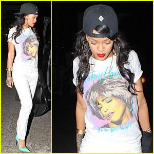 Rihanna Honors Whitney Houston On Legendary Singer's 51st Birthday