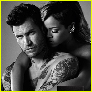 Rihanna Wraps Her Arms Around a Sexy Man in New 'Rogue for Men' Perfume Ads!