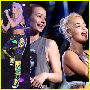 Rita Ora & Iggy Azalea Rehearse for the VMAs - See the Pic!