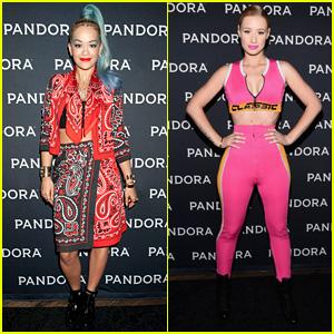 Rita Ora & Iggy Azalea Rock the Santa Monica Pier for Pandora