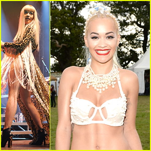 It's All About The Pearls For Rita Ora at V Festival 2014
