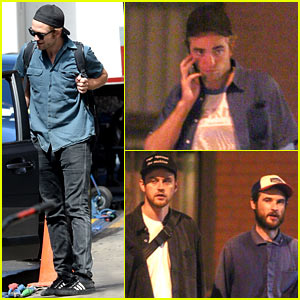 Robert Pattinson Has a Mini Brit Pack Reunion in New York!