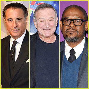Robin Williams' Former Co-Stars Andy Garcia & Forest Whitaker Release Statements On Shocking Death