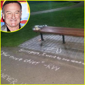 Famous 'Good Will Hunting' Bench Memorialized After Robin Williams' Death (Photo)