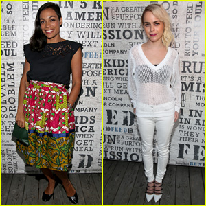 Rosario Dawson & Taryn Manning 'Party Under The Stars' for a Good Cause in the Hamptons