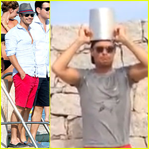 Ryan Seacrest Pours Small Bucket Over His Head For ALS Ice Bucket Challenge - Watch Now!