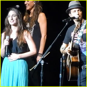 Sara Bareilles Joins Jason Mraz for a 'Beautiful' Duet - Watch Now!