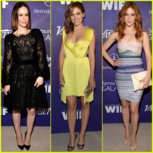 Sarah Paulson & Sophia Bush Stun at Variety's Pre-Emmys Party