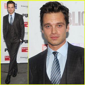 Sebastian Stan Sure Knows How to Wear a Suit!