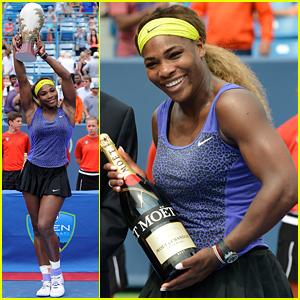 Serena Williams Wins Big, Gets Her First Cincinnati Title at Western & Southern Open!