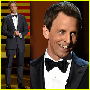 Seth Meyers' Emmys 2014 Opening Monologue - WATCH NOW!