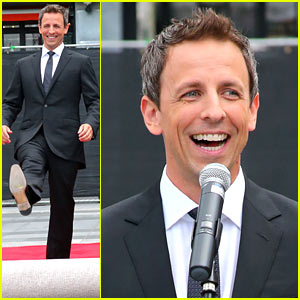 Seth Meyers Rolls Out the Red Carpet for Emmy Awards 2014