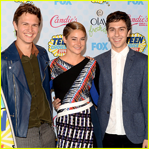 Shailene Woodley, Ansel Elgort, & 'Fault in Our Stars' Totally Dominate Teen Choice Awards 2014