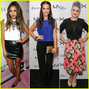 Shay Mitchell & Jessica Lowndes Brighten Up BeautyCon L.A.