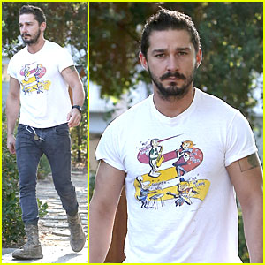 Shia LaBeouf Brings The Jetsons to a Meeting!