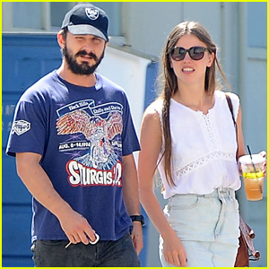 Shia LaBeouf & Girlfriend Mia Goth are Lemonade Lunch Lovers