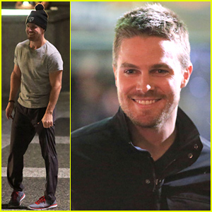 Stephen Amell Just Filmed an 'Arrow' Scene That Was 'Two Years in the Making'!