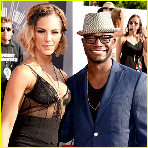 Taye Diggs Attends VMAs with Girlfriend Amanza Smith Brown