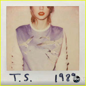 Taylor Swift Announces New Album '1989' - See the Artwork Here!